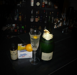 Champagne Cocktail 2